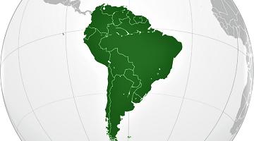 sudamerica globo terraqueo