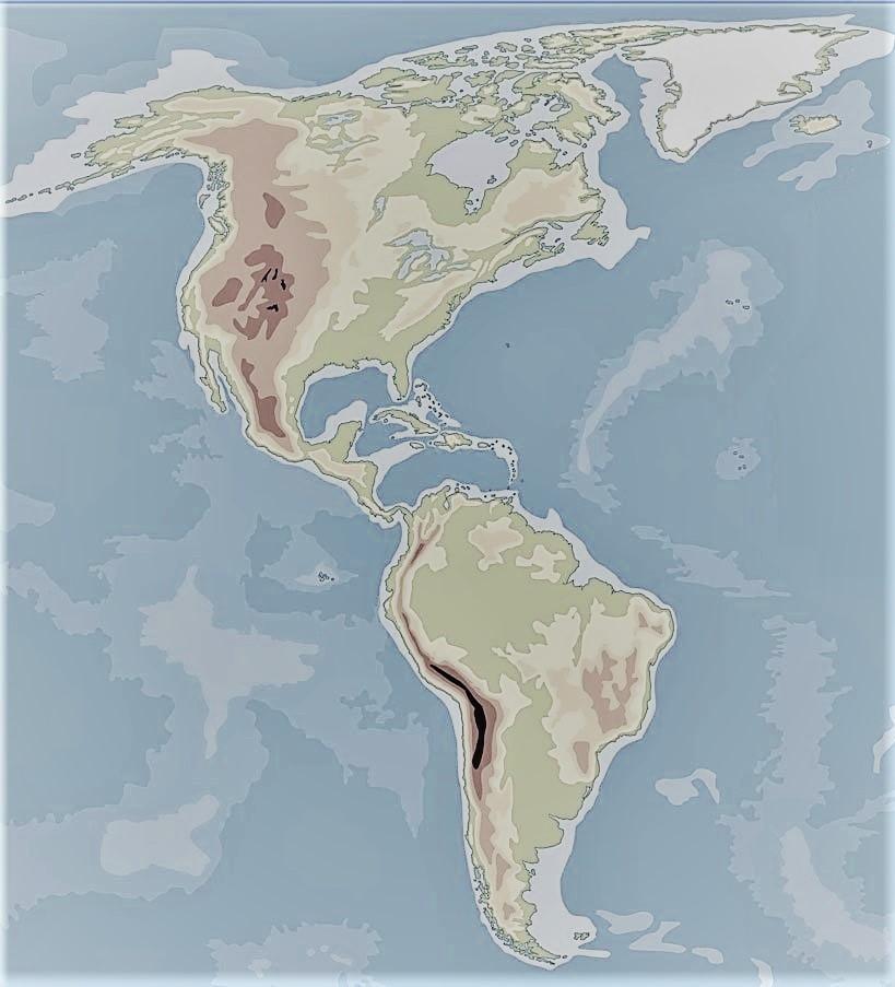 mapamundi america fisico