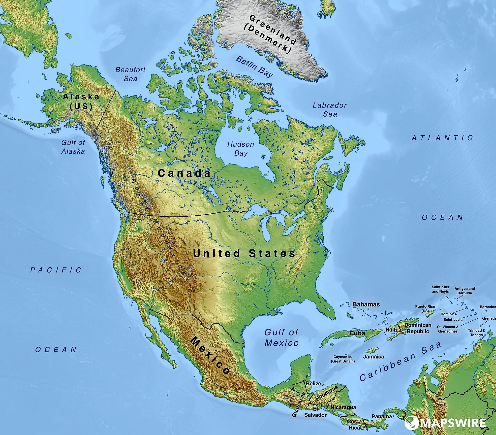 north america köppen map - HD 2000×1699