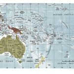 mapa oceania politico