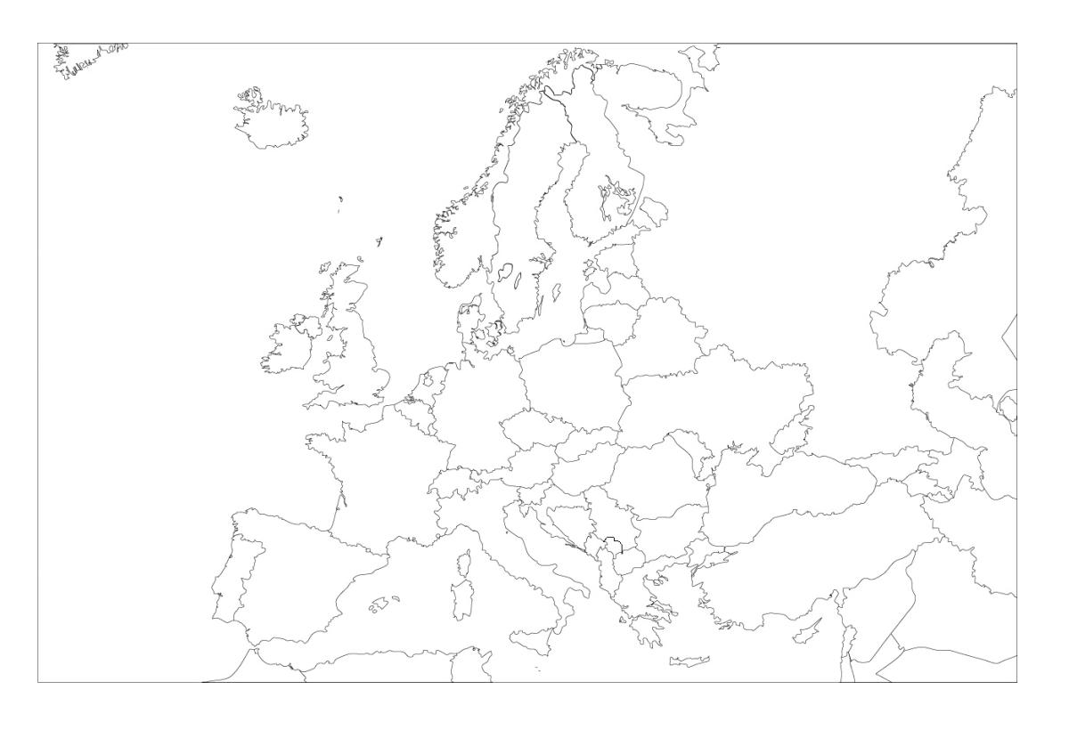 Mapa Mudo De Europa Politico.Mapas De Europa 2019 Mas De 200 Imagenes Para Imprimir