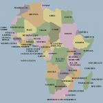 mapa africa politico paises español