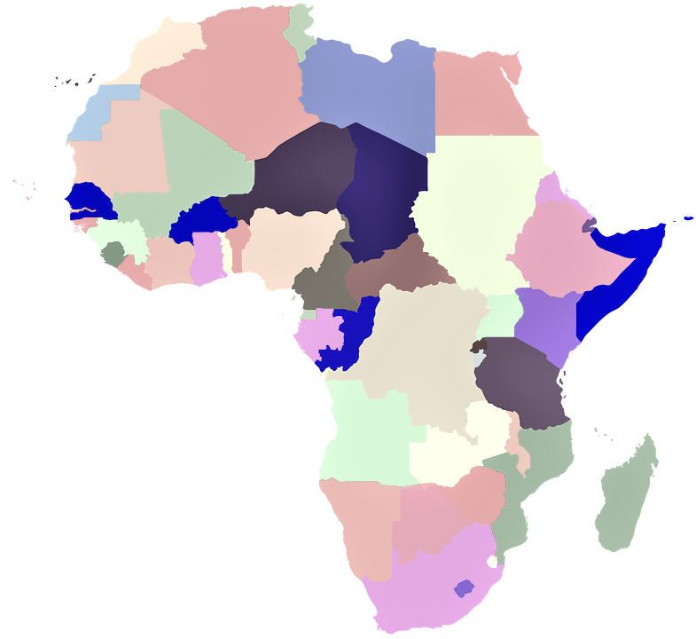 mapamundi africa sin nombres