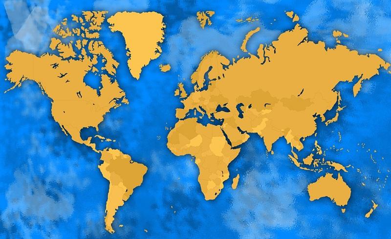 mapamundis politicos
