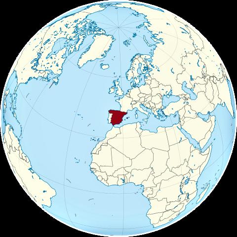 Resultado de imagen de mapamundi españa