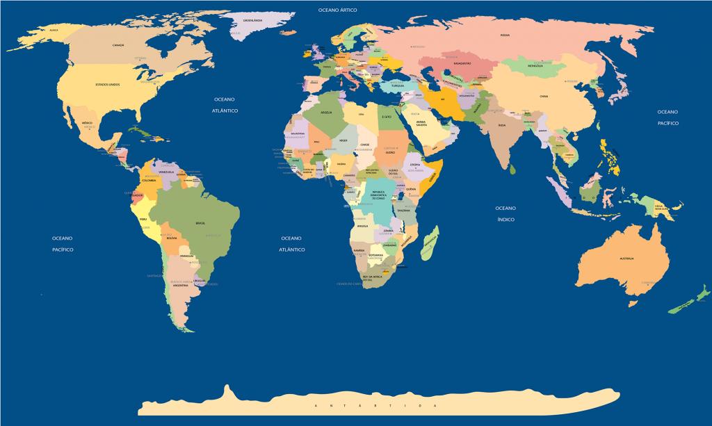 mapa politico mundial grande